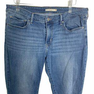 Levis 711 Denim Skinny Jeans Jeggings 43PE